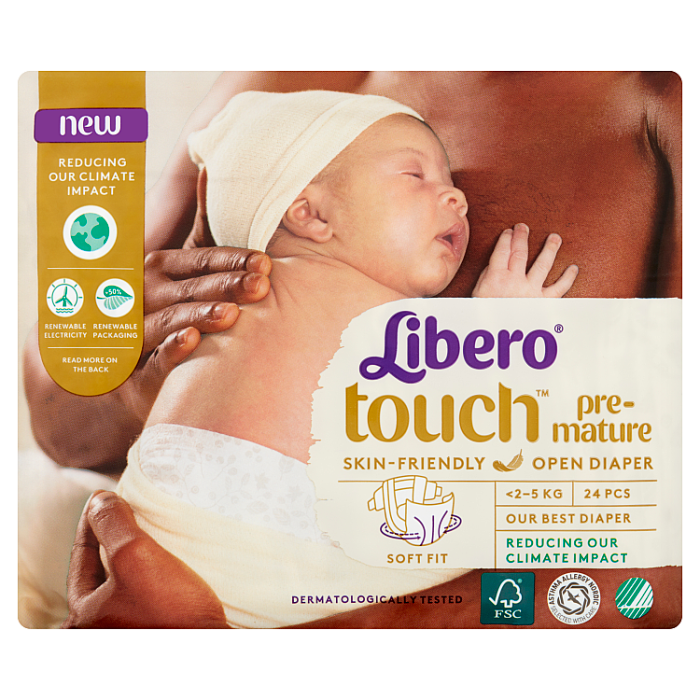 Libero Touch Premature nadrágpelenka 24 db <2,5 kg