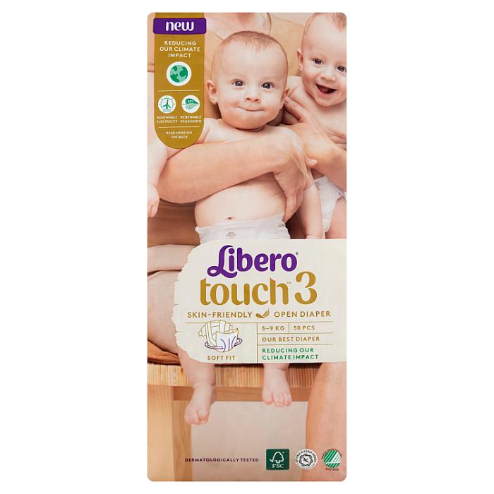 Libero Touch 3 JUMBO nadrágpelenka 50 db 5-9 kg