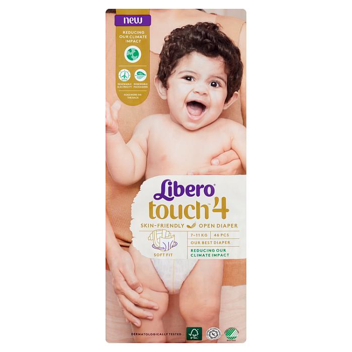 Libero Touch 4 JUMBO nadrágpelenka 46 db 7-11kg