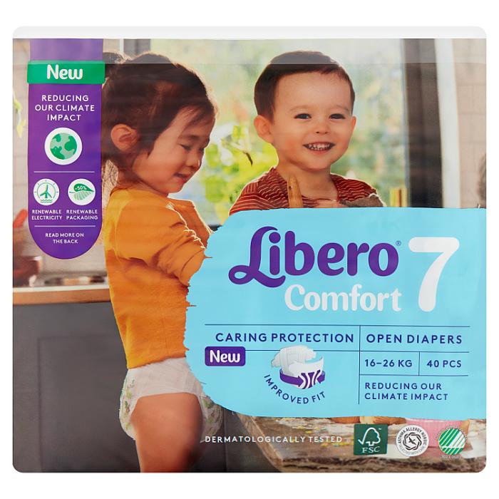 Libero Comfort 7 JUMBO nadrágpelenka 40 db 16-26 kg