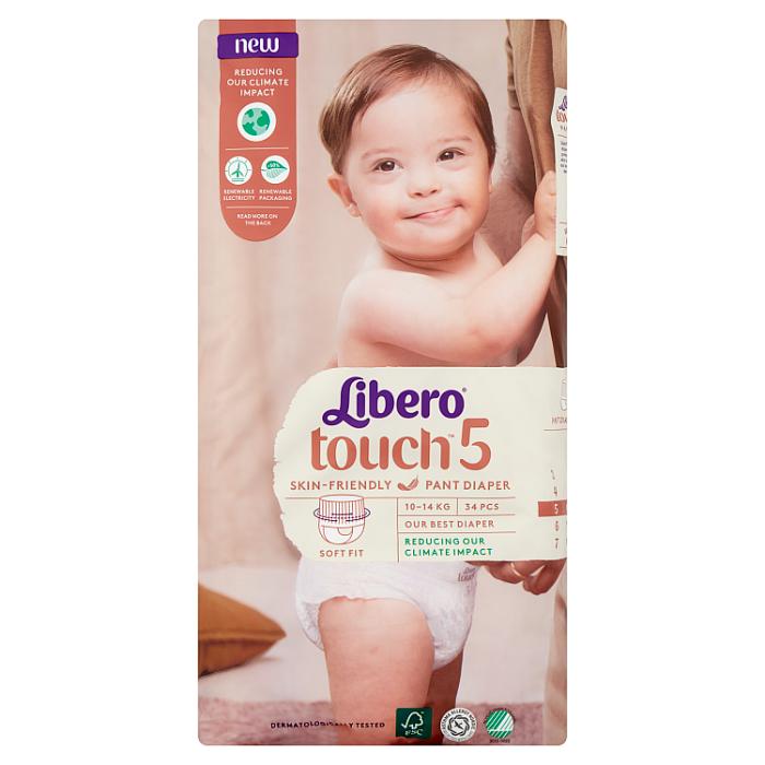 LIBERO Touch 5 bugyipelenka 34 db 10-14kg