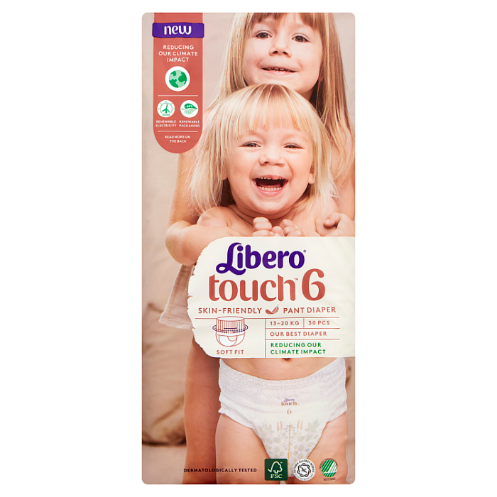 LIBERO Touch 6 bugyipelenka 30 db 13-20kg