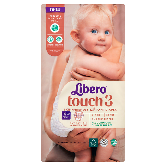 LIBERO Touch 3 bugyipelenka 38 db 5-9kg